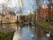 Belgium-Bruges-LakeMinnewater