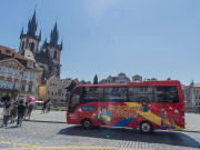 prague czech republic hop on hop off bus tour
