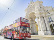 lisbon hop on hop off sightseeing bus tour