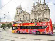 igreja do carmo porto portugal hop on hop off bus