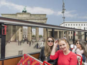 Brandenburg Gate berlin hop on hop off bus tour