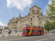 Reichstag building berlin hop on hop off bus