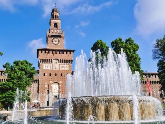 Castello Forzesco, Sforzesco Castle, Italy, Milan