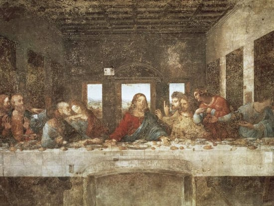 The Last Supper, Leonardo da Vinci. Milan