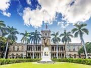 US_Hawaii_Oahu_Honolulu_king_Kamehameha_statue_shutterstock_394438309