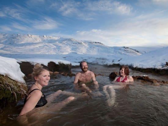 Iceland, Reykjadalur, Hot Springs