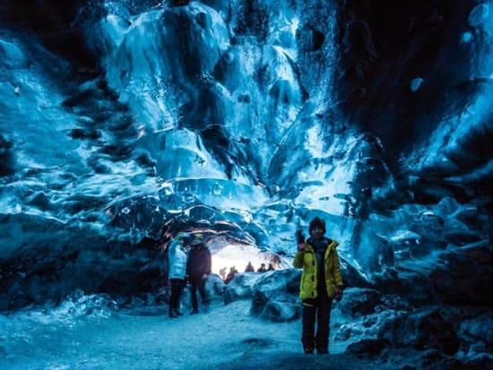 Iceland Crystal Ice Cave Tour From Jokulsarlon Glacier Lagoon