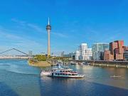 Germany. Dusseldorf, Rhine River