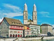 Grossmunster Church - Zurich Sightseeing Tour