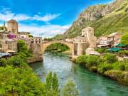 Croatia Mostar Old Bridge