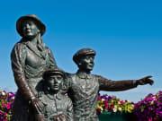 Ireland, Cobh Heritage Center, Annie-Moore Statue