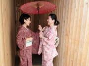 Kimono dress up in Fukuoka