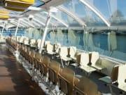 Seine shuttle interior view