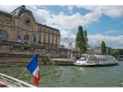 Seine shuttle stops at Musée d'Orsay station