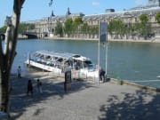 Batobus stops at Saint-Germain-des-Prés station
