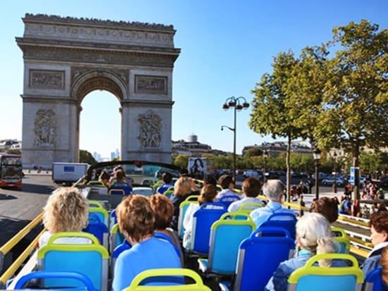 Paris Open Tour Hop On Hop Off Double-Decker Bus Tour, Paris