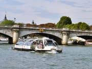 boat cruise, Seine River, Paris
