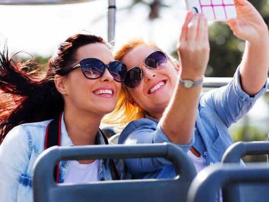 rome-open-bus-dream-selfie-happy-glt-green-line-tours-italy