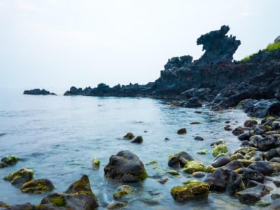 Yongduam Rock in Jeju