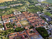 Terezin Concentration Camp aerial view