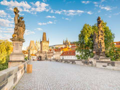 Czech Republic Prague Charles Bridge Lesser Town