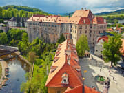Czech Republic Cesky Krumlov Castle City