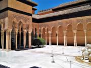 Alhambra - Lion courtyard