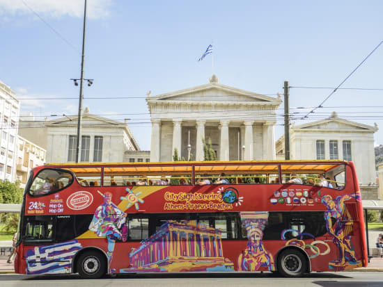 Athens Sightseeing Hop-On Hop-Off Bus Tour, Athens tours
