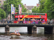 amsterdam hop on hop off bus tour