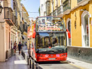 seville spain hop on hop off bus sightseeing tour