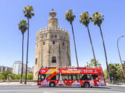 torre del oro seville spain hop on hop off bus