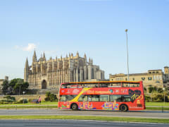 palma cathedral majorca spain hop on hop off