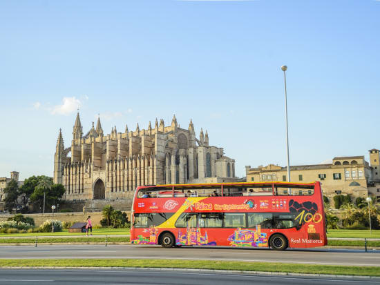 Palma De Mallorca Hop On Off Sightseeing Bus Tour With Optional Walking Instant Confirmation