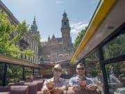 double decker bus open top krakow poland