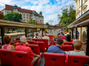 open-top bus krakow poland hop on hop off tour