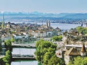 zurich, highlights, cityscape, panorama