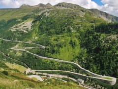 Switzerland, Swiss Alps, Furka Pass