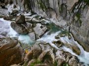 Schöllenen Gorge, swiss alps, switzerland