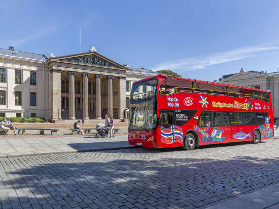 University of Oslo hop on hop off bus tour