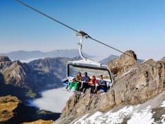 Uri Alps, swiss alps, Titlis, ski lift, cable car