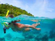 Snorkelling Sea Image Nha Trang_123246274