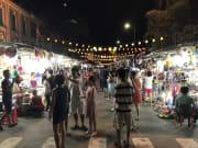 Night Marcket Nha Tran