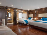 Alisa Suite Cabin with large private balcony