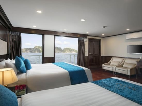Alisa Suite Cabin with Private Balcony