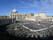 St. Peter's Square crowd view