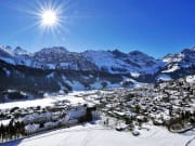 Swiss, winter, Engelberg, alps