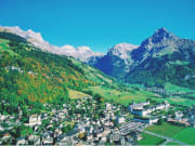 Swiss Alps in the vally of Engelberg