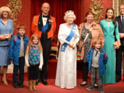 royal, family, madame tussauds, london