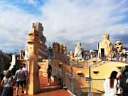 Spain, Barcelona, Gaudi Tour