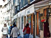 Spain streets shops